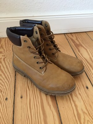 Landrover Lace-up Boots light brown-beige