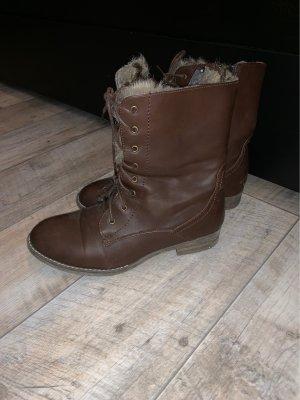 Short Boots dark brown