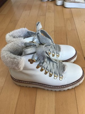 Andrea Sabatini Ankle Boots natural white