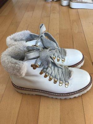 Andrea Sabatini Low boot blanc cassé