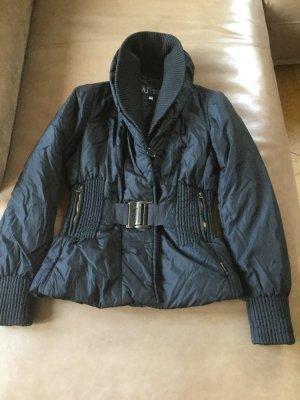Armani Jeans Veste courte noir coton