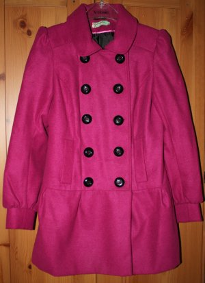 gefütterte, sehr hübsche pinkfarb. Mis-behave Jacke in Gr. 10/S/36
