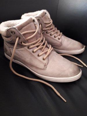 gefütterte Sneaker aus Leder von TAMARIS Active, Gr. 40