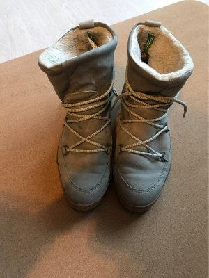 Tamaris Snow Boots slate-gray-pale blue