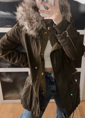 Zara Kurtka zimowa ochra