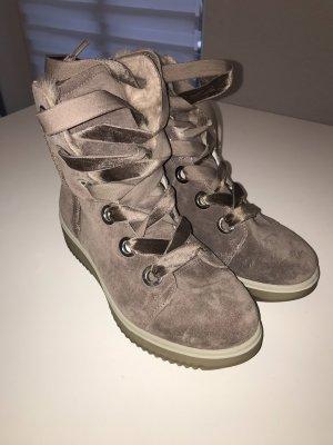 Gore Tex Winter Boots lilac-dark violet