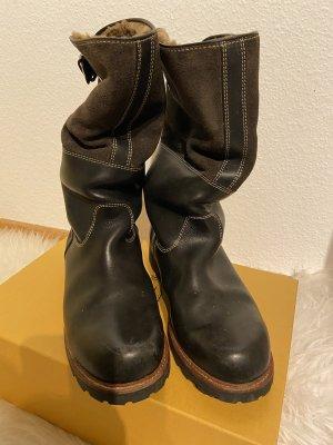 Ludwig Reiter Winter Boots dark brown-black brown