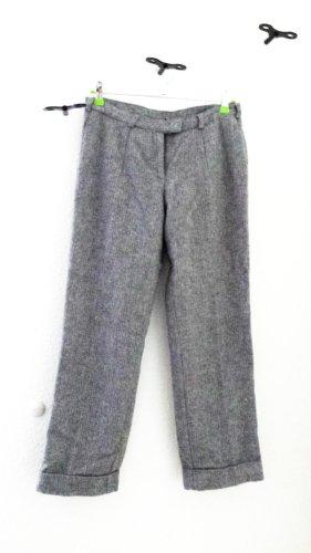 Pantalón de lana multicolor tejido mezclado