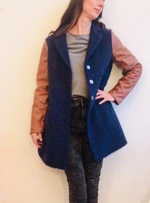 Cappotto corto multicolore