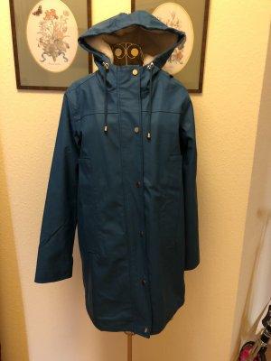 Asos Heavy Raincoat cornflower blue