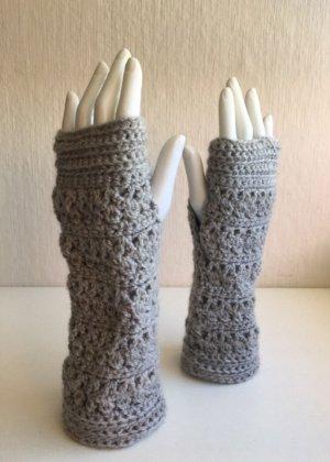 Gehäkelte Handstulpen Handmade Neu