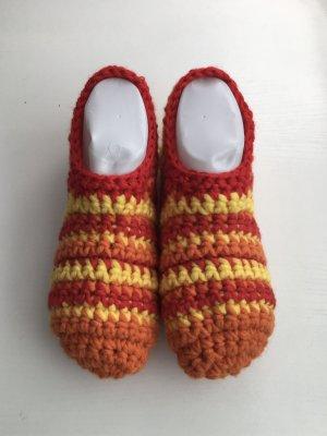 handmade Botas de fieltro multicolor