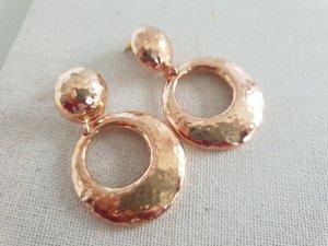 Dangle bronze-colored-gold-colored