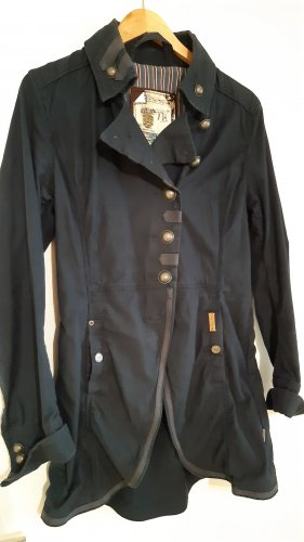 Khujo Military Jacket dark blue cotton