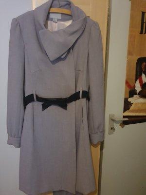 Woman for H&M Redingote gris clair