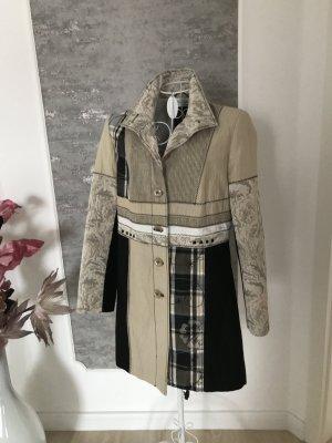 Cosima Long Blazer multicolored linen