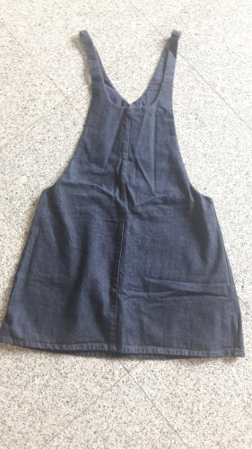 H&M Pinafore skirt dark blue
