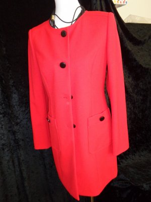 Ashley Brooke Long Blazer red mixture fibre