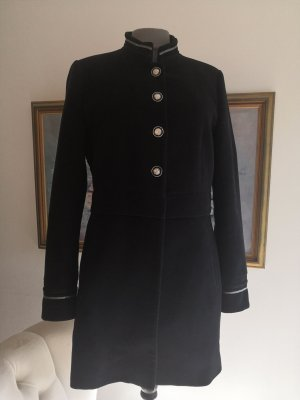 Frock Coat black-silver-colored