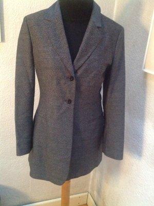 Strenesse Blazer long taupe-gris foncé laine