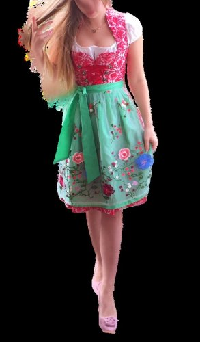 Dirndl multicolored cotton