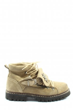 Geier Wally Lace-up Booties cream casual look