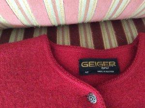 Geiger Janker//Trachtenjacke//Jacke//Rot//Größe 36-38