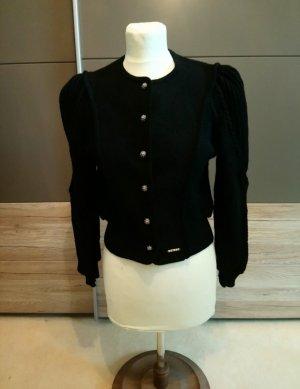 Geiger Blazer en maille tricotée noir