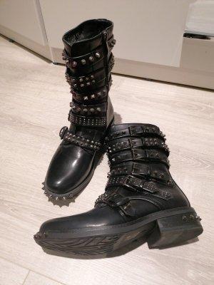 geile Punk Rave Gothic Stiefel Boots