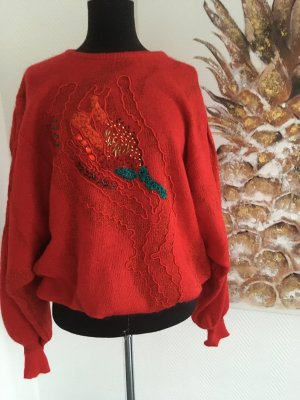 Maglione oversize rosso
