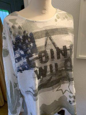 Aust Koszulka oversize Wielokolorowy