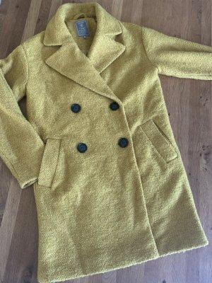 Geisha Oversized Coat lime yellow