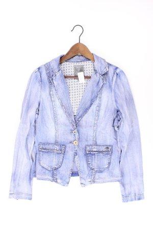 Geisha Blazer en jean bleu-bleu fluo-bleu foncé-bleu azur