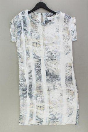 Geisha Jerseykleid Größe 38 Kurzarm mehrfarbig aus Viskose