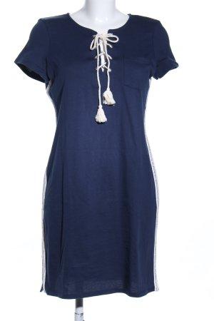 Geisha Shirtkleid blau Casual-Look