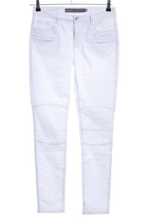 Geisha Stretch Jeans weiß Casual-Look