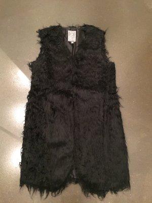 Geisha Fur vest black