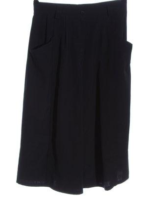 geissler Culottes zwart casual uitstraling