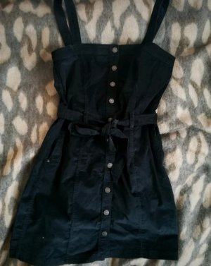 Abercrombie & Fitch Pinafore dress dark blue