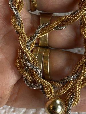 Geknotete lange antik Halskette