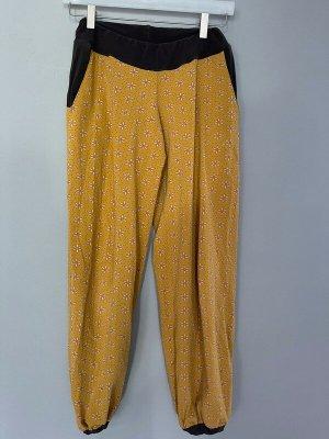 Pumpy brązowy-ciemny żółty Tkanina z mieszanych włókien