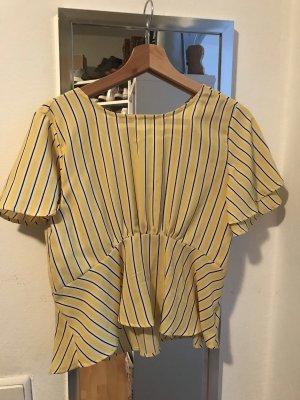 Gelb gestreifte Bluse