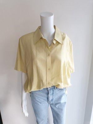 Canda Koszulowa bluzka jasnożółty-limonkowy żółty