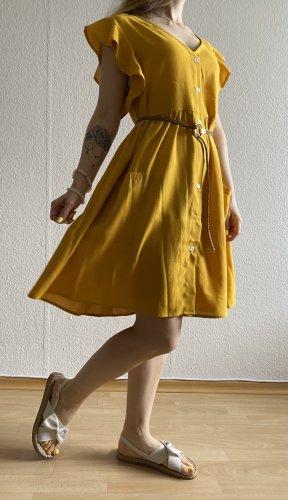 Gelb Sommerkleid (ohne Gürtel) von SheIn