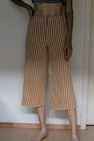 Zara Culottes gold orange-white