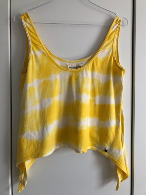 Gelb weißes Top von Ralph Lauren