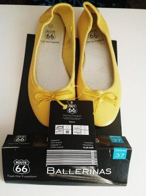 Route 66 Ballerina pieghevole giallo