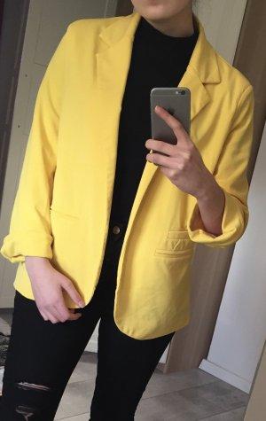 Face to Face Gilet de costume jaune-jaune primevère