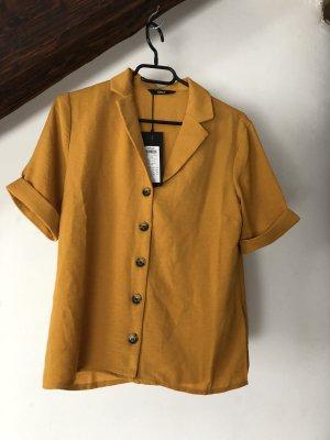 Only Blusa de cuello alto amarillo