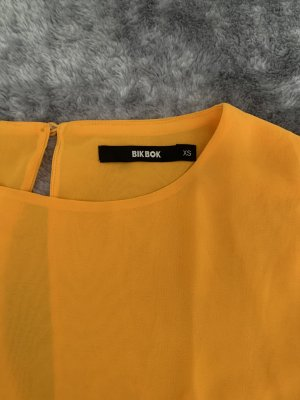 Bik Bok Blusa brillante giallo-oro